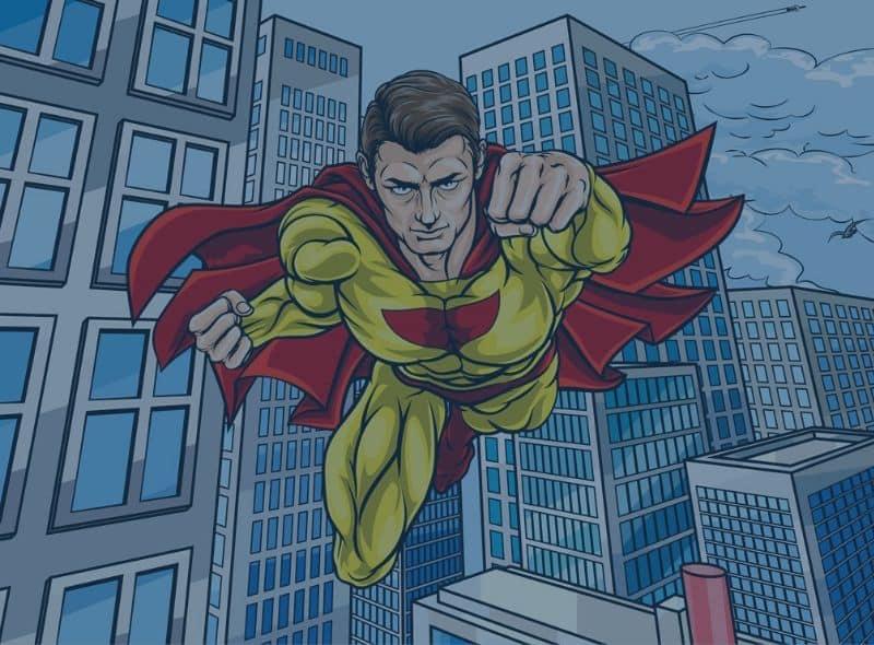 Digital Rights Defenders - Superhero