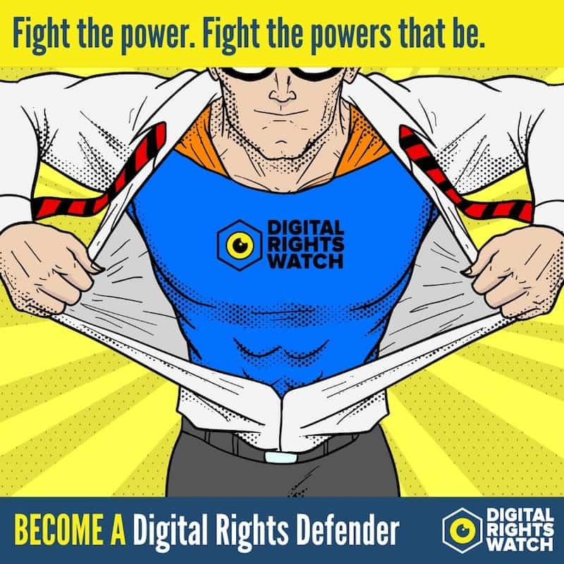 Digital Rights Defenders - Regular Giving Program